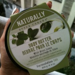 Upper Canada Body Butter in Wild Mint Lime; Reviews & Photos