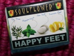 Soulflower Happy Feet Vegan Soap; Review & Photos!