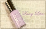 Sally Hansen Xtreme Wear Lacey Lilac Nail Lacquer; Review & Swatches