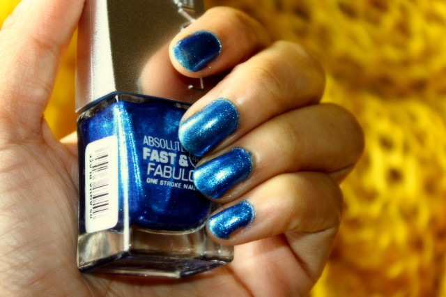 Lakme Aqua Blaze Nail Polish Review