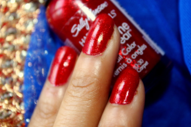 Sally Hansen Red Carpet Nail Polish Swatch