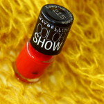 Turn the Heat on with Maybelline's Keep Up the Flame Colorshow Polish!