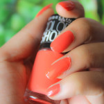 Maybelline Colorshow Orange Fix Nail Polish – The purrrfect fix for Summer!
