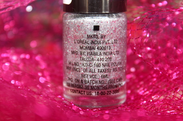Maybelline Dazzling Diva Glitter Mania Review