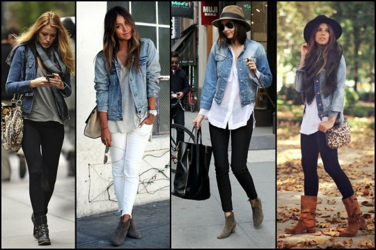 Denim jacket outfit winter – Modern fashion jacket photo blog