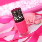 Maybelline's Colorshow Polish Hooked on Pink…Hotness Could have been it's middle name!