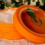 The Body Shop's Satsuma Body Butter (Clementine)….It's like a Giant Juicy Orange