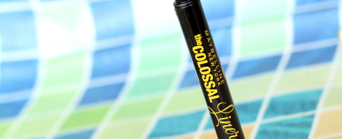 Maybelline's The Colossal Liner Review Photos