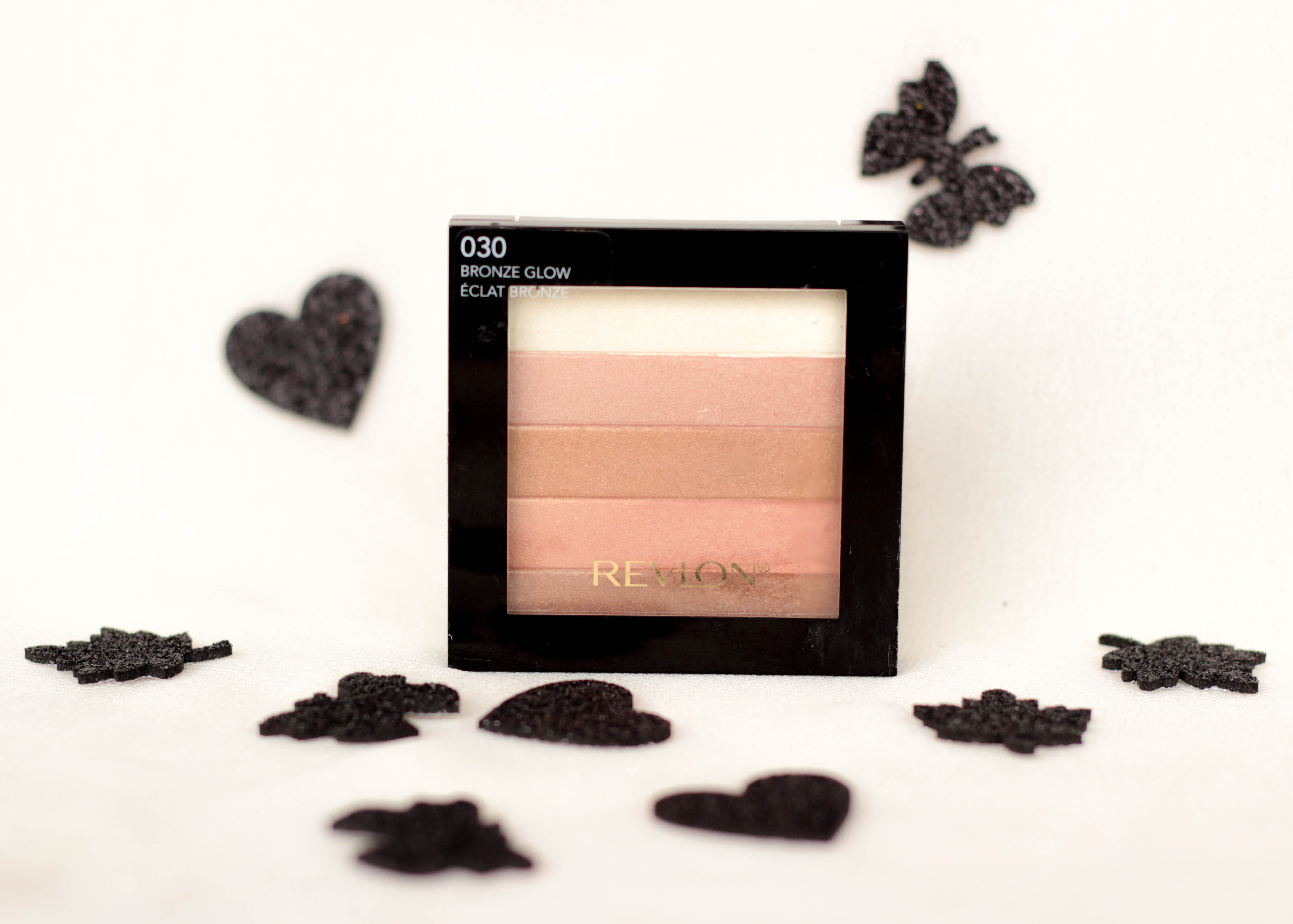 how to use revlon highlighting palette peach glow
