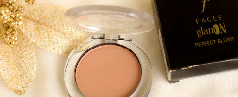 Faces Gold Dust Blush Review Swatch